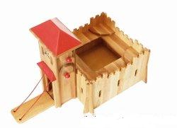 medium wooden fort