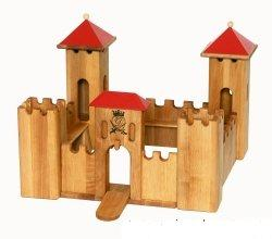 wooden castle small