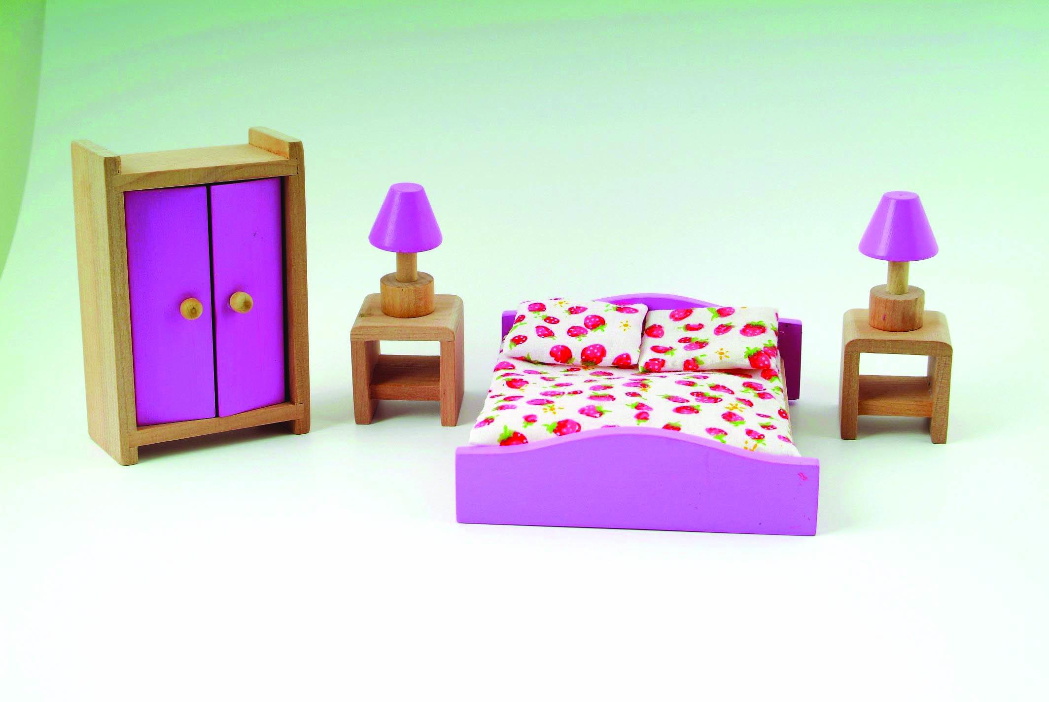 wooden house furniture - bedroom
